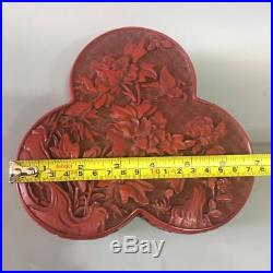 6.8 Rare Chinese Collect Lacquer Wood Hand Carved Hunting Jewel Jewelry Box Pot