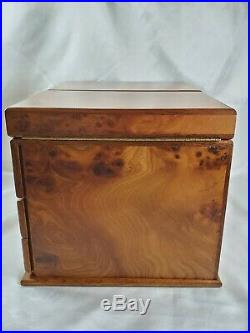 AGRESTI Briarwood Watch & Jewelry Box Pillows Italy $795 @ FRONTGATE FG Mint