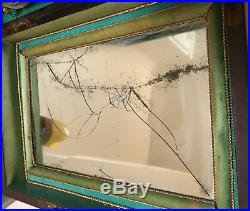 ANTIQUE wood Vanity Box Toothpick dressing & Music Box Jewelry Asprey Titanic