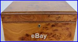 Agresti Florence Italy Super Briar Wood Jewelry Box