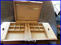 Agrestri Wooden Jewelry Box, New, 17.5x10.5x10, Made In Italy