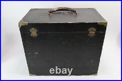 Antique Dental Cabinet 10 Drawers Dentists Tool Box Case Wood Jewelry Machinists