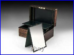 Antique Jewellery Box in Calamander
