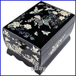 Antique Jewelry Music Box Jewelry Women Gift Item Jewelry Organizer W1001