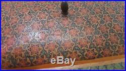 Antique Jewelry box Premium Quality Orient-Syrian Handmade Mosaic Inlay Wood