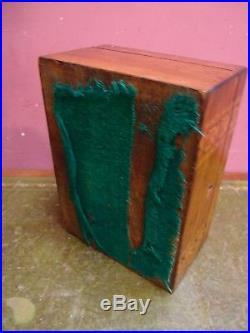 Antique Victorian Rosewood Veneer & Inlaid Tunbridge Ware Trinket Jewellery Box