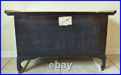 Antique/Vtg Chinoiserie 31 Asian Jewelry Box Chest Cabinet Bench High Point NC