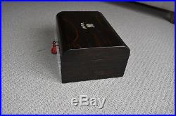 Antique sewing / jewellery box Coromandel wood