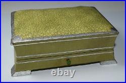 Art Deco Jewelry Presentation Box Faux Shagreen 1920s