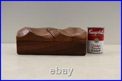 Artisan Studio Burl Wood Handcrafted Free Form Puzzle Jewelry Box Eric Arcese