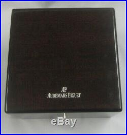Audemars Piguet Lacquered Wood Watch Jewelry Gift Display Box withPillowithCushion