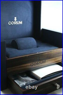 Authentic large Luxury corum watch and Jewellery box new unused