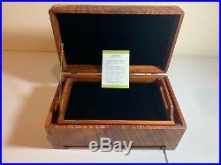 Beautiful Handmade ROY TSUMOTO Koa Wood Jewelry Box With Tray