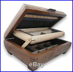 Beautiful Handmade Walnut Jewelry Box