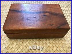 Beautiful Koa Wood Jewelry Box Made in Hawaii by Tsumoto
