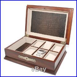 Bombay watch and Jewelry Box Storage Organizer Men's Jewelry Box New