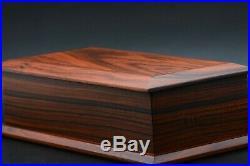 Box made in Morado Pau Ferro keepsake trinket jewelry wood hand crafted