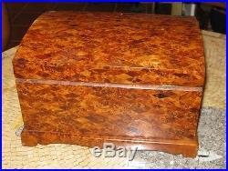 Burl wood box Burl wood jewelry box Jewelry box Burl wood jewelry chest