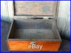 C. 1880 Home Craftsman Made Jewelry / Keepsake Box