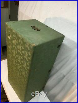Cabinet Box Storage Chest Vintage Organizer Jewelry Wood Trunk De Luxe Cabinet