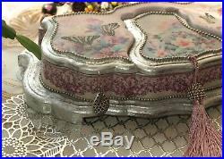 Casket, jewelry box, handmade