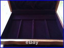 Cherry Wood Jewelry Box Athena Handcrafted 3 Drawers from JewelryBoxShop. Com