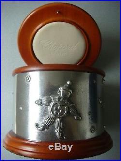 Chopard Royal Selangor Pewter & Wood Happy Clown Jewellery Storage Box