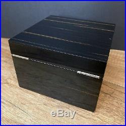 ERCOLANO Luxury Ebony Wooden Handmade Italian Jewelry Box $465 Barney's