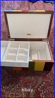 Ercolano Lucilla Large Wooden Jewellery Box