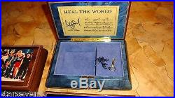 Exclusive Lot 4 Michael Jackson Swiss Italian Wood Classic Music Jewelry Boxes