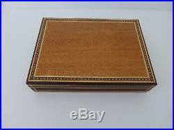 Exquisite Wooden Jewellery Box Handcrafted Silky Oak, Tuart & Jarrah