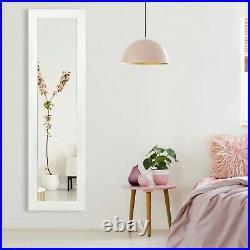 Ezigoo Mirror Jewellery Cabinet Door Mount/Wall Mounted Mirror with LED Lights