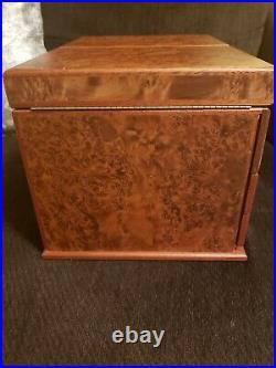 Gorgeous AGRESTI Briarwood Watch & Jewelry Box Italy
