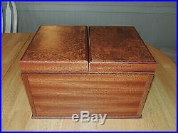 Gorgeous AGRESTI Briarwood Watch & Jewelry Box Italy $795, Frontgate
