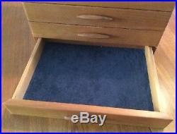 HEARTWOOD CREATIONS 12x 9x 8 1/2 JEWELRY/VALET WOOD BOX Cascade I Signd USA