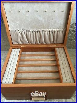 HEARTWOOD CREATIONS Michael Fisher JEWELRY WOOD BOX Cascade I Sierra