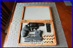 Hand Crafted Carved Solid wood Storage boxes, gun case, display box Jewelry box