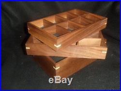 Hand made maple jewelry box