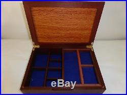 Handmade Jarrah & Sheoak Jewellery Box with removable tray