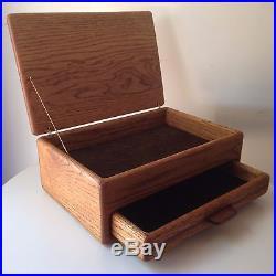Handmade Jewelry Box Vintage Mid Century Modern Manner of Dean Santner