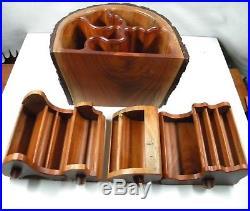 Handmade Rustic Wooden Jewelry Box