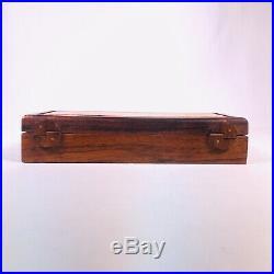 Hawaiian Koa Wood Box 8.25 by Alan J. Sharp Jewelry Trinket Box Handmade
