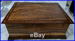 Hawaiian Tiger Koa Wood Jewelry Box By Joel Bright Mililani Oahu Hawaii