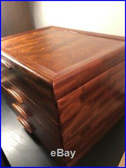 Heartwood Creations'Prarie II' Style 3 Drawer Jewelry Box Factory Second