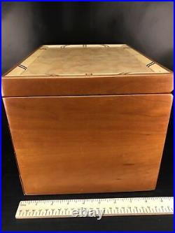 Heartwood Creations'Safari Style 3 Drawer Jewelry Box Second Quality