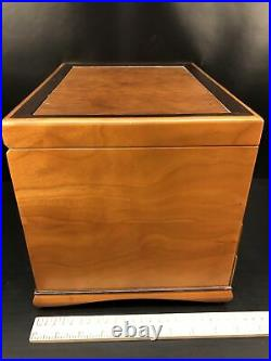Heartwood Creations'Teton' Style 3 Drawer Jewelry Box Factory Second