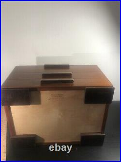 Heartwood Creations'Urban Craftsman' Style 2 Drawer Jewelry Box Factory Second
