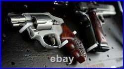 Hidden Safe Storage Shelf Box Money Gun Jewelry Lock Home Security LED Light Peg
