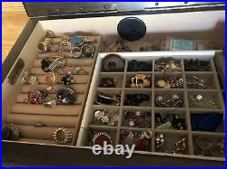 Hives & Honey Landry Walnut Jewelry Armoire brown