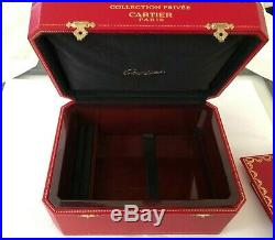 Huge Vintage Cartier Collection Privee Jewelry Box